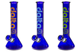 CBK 38mm 10in GOG beaker (Cobalt Blue)